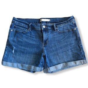 Levi's Cuffed Denim Shorts